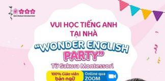 wonder english party