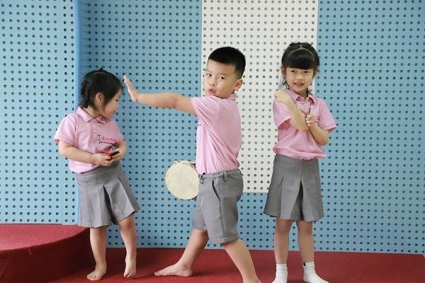 âm nhạc tại trường mầm non sakura